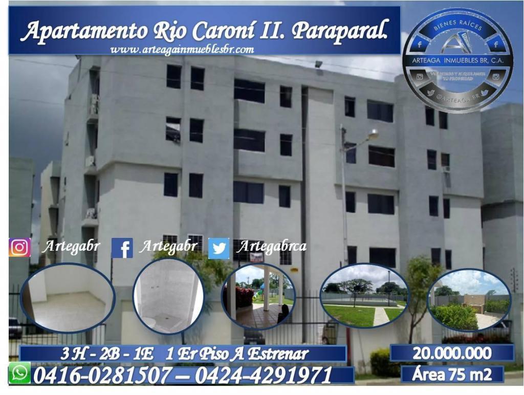 VENDO HERMOSO APARTAMENTO EN RIO CARONI II