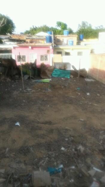 Se vende terreno registrado en la limpia detrás de bomba miranda
